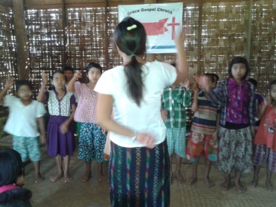 MYANMAR – Church Planter Mar Lar Soong.