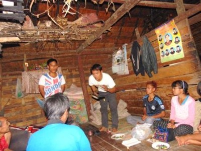 MYANMAR – THE WORD MISSION's outreach – Akha people.