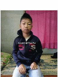 MYANMAR – Please pray for JOSIAH LAL TAN PUI