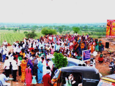 INDIA | God is blessing the outreach ministry of the ADDA ROAD ADVENT CHRISTIAN CHURCH in Andhra Pradesh