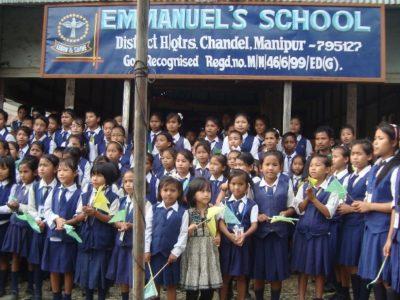 INDIA   Jesuway Jeevan Mission Ministry partner – Emmanuel's School