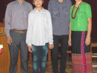 MYANMAR  – Pastor Kenneth plans a Bible School