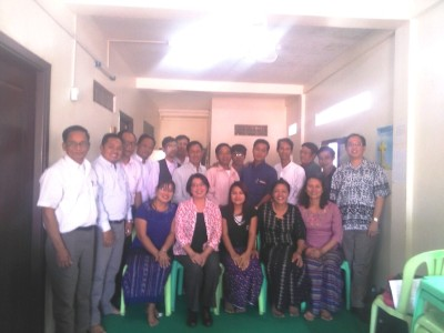 MYANMAR   LEADERSHIP TRAINING in the Advent Christian Church of Myanmar.