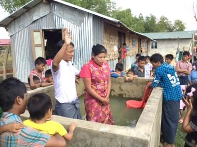 MYANMAR | EASTER BAPTISMS