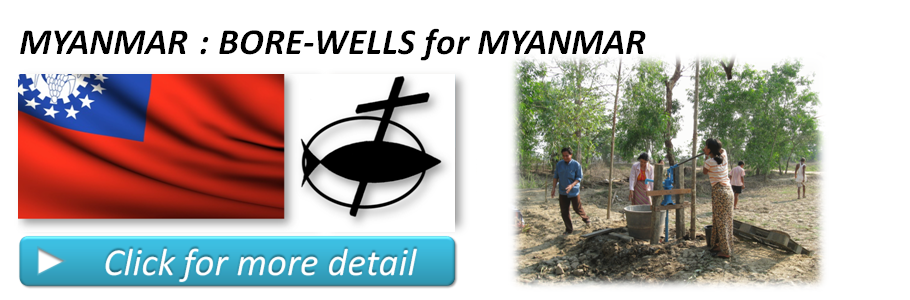 BORE-WELLS for MYANMAR