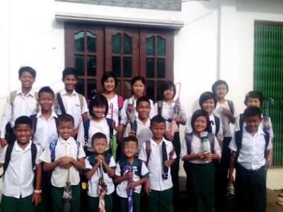 MYANMAR   Children return to school – Part 2