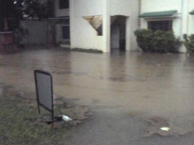 PHILIPPINES | Flooding at ORO BIBLE COLLEGE