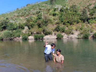 MYANMAR – Pastor Joseph's outreach
