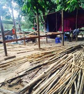 MYANMAR | Cyclone causes damage to many houses of ACCM members