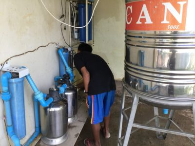 MYANMAR – WATER PURIFIER donated for THE WORD MISSION