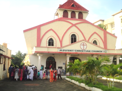 INDIA | Baptisms in the churches of the Advent Christian Conference of India's churches
