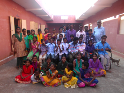 INDIA | NEW YEAR picture from YJM Ministry Partner – CHRIST SPECIAL HIGH SCHOOL