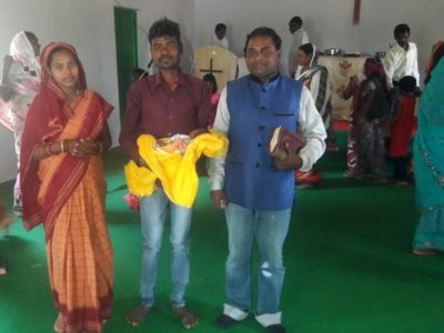 INDIA | Yesuway Jeevan Mission Ministry Partner in ODISHA – Pastor Pani reports an Infant Dedication