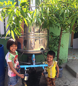 MYANMAR | The Lord provides – water purifiers