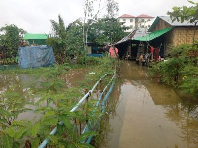 MYANMAR and the PHILIPPINES – Flooding.